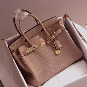 Hermes Birkin Handbag Check description